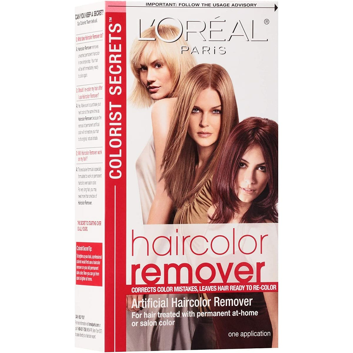 Hair Dye Remover